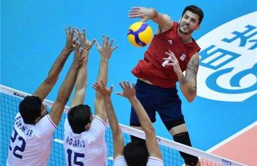 Кубок світу. Американці перемогли Іран та інші результати дня чоловічий волейбол, кубок світу -2019, результати 6-го туру