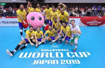 Бразилія лідирує на Кубку світу чоловічий волейбол, кубок світу -2019, результати 8-го туру
