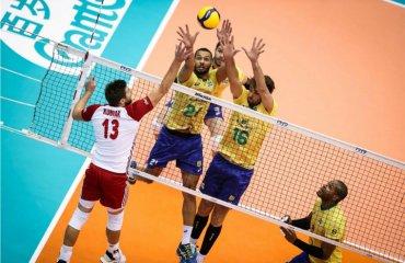 Бразилія продовжує очолювати світовий рейтинг команд чоловічий волейбол, жіночий волейбол, світовий рейтинг команд, fivb