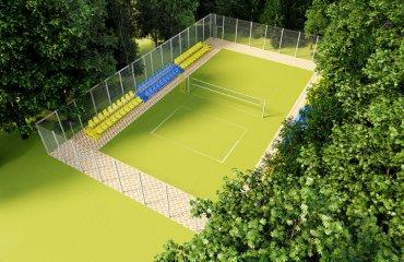 У Вінниці збудують новий волейбольний майданчик волейбольний майданчик, вінниця