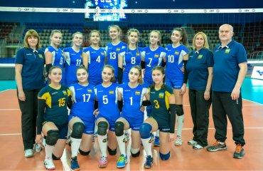 Збірна України U-16 перемогла Азербайджан у стартовому матчі EEVZA жіночий волейбол, чемпіонат сєвза, eevza-2019, збірна україни ю 16, перемога над азербайджаном