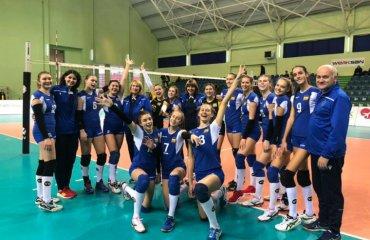 Чемпіонат EEVZA (дівчата U-16). Поразка, за яку не соромно жіночій волейбол, молодіжна збірна україни, u-16, сєвза, eevza, розклад матчів
