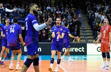 Олімпійська кваліфікація. Франція обіграла Сербію та інші матчі чоловічий волейбол, кваліфікаційний турнір, олімпіада-2020, результати першого ігрового дня