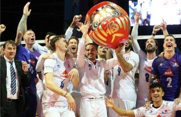 Франція завоювала путівку на Олімпіаду-2020 чоловічий волейбол, кваліфікаційний турнір, олимпіада токіо 2020, франція