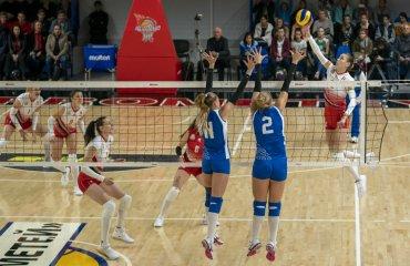 Результати матчів 13-го туру жіночої Суперліги України 2019-2020 жіночий волейбол, суперліга україни 2019-2020, 13-ий тур, розклад, результати, відео-трансляція, онлайн