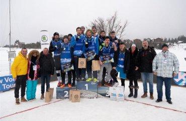 Українці стали срібними призерами європейського туру з волейболу на снігу чоловічий волейбол, волейбол на снігу, словаччина, етап чемпіонату європи-2020, скукіс, бокшан, кузьмін