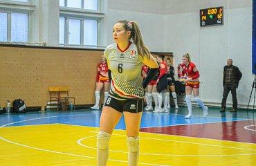 """Вікторія ДЕЛЬРОС: """"Головне у спорті – самовіддача"""" жіночий волейбол, вікторія дельрос, ліберо, інтервью, ск прометей, камянське, суперліга україни"""