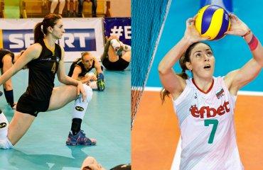 """СК """"Прометей"""" представив нових зв'язуючих жіночий волейбол, ск прометей, суперліга україни сезон 2020\2021, алла політанська, лора кітіпова, трансфер"""