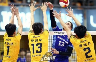 У Кореї завершився щорічний драфт гравців чоловічий волейбол, чемпіонат кореї, драфт гравців