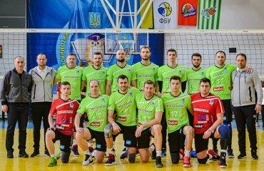 """Перша ліга (чоловіки). """"Фінал чотирьох"""". 2-й тур. """"Золотий"""" уїк-енд для """"Епіцентр-Подоляни"""" чоловічий волейбол, епіцентр-подоляни городок, фінал чотирьох, перша ліга, чемпіонат україни сезон 2019\2020"""
