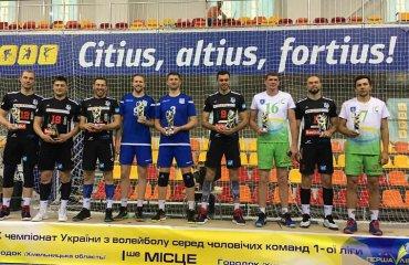 Кращі гравці Першої ліги України 2019-2020 чоловічий волейбол, перша ліга сезон 2019-2020, кращі гравці чемпіонату