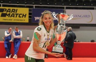 """Екс-волейболістка """"Хіміка"""" продовжить кар'єру в Азербайджані жіночий волейбол, трансфер, американська блокуюча, хімік южний, азеррейл"""