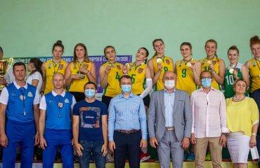 """Перша ліга (жінки). """"Фінал чотирьох"""". """"Полісся-ліцей-інтернат"""" дарує Житомиру """"золото""""! жіночий волейбол, перша ліга 2019-2020, фінал чотирьох, фогтланд, полісся, пну"""
