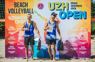 Скукіс та Бокшан стали переможцями Uzh Open пляжний волейбол, чемпіонат україни, ужгород, 1* тур, результати матчів, михайло скукіс та юрій бокшан