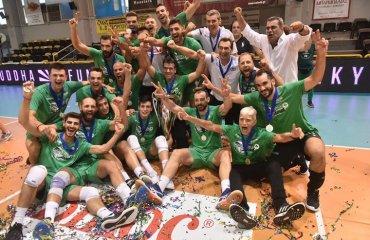 """""""Панатінаїкос"""" вперше за 14 років став чемпіоном Греції чоловічий волейбол, чемпіонат греції, панатінаїкос, фінал, чемпіон Греції"""