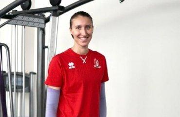 """Анастасія КРАЙДУБА: """"Можу з впевненістю сказати, що я не помилилася в своєму виборі"""" жіночий волейбол, анастасія крайдуба, чемпіонат україни 2020-2021, ск прометей, інтервью"""