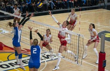 """Дар'я ДРОЗД: """"Відновлення йде за планом"""" жіночий волейбол, дар'я дрозд, блокуюча ск прометей, суперліга україни, сезон 2020-2021"""