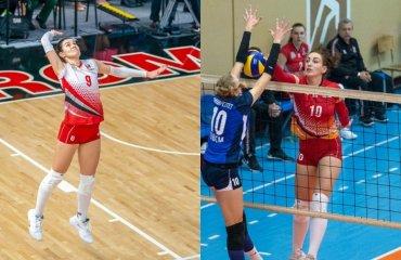 """Дві волейболістки """"Прометея"""" поповнили склад """"Регіни"""" жіночий волейбол, регіна-мегу, суперліга україни 2020-2021, трансфер єфременко, дуб'янська"""