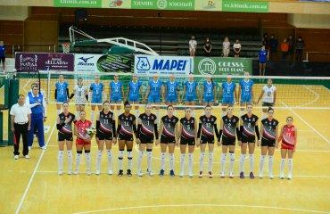 """Суперліга (жінки). 2-й тур. Перший раунд виграв СК """"Прометей"""" жіночий волейбол, суперліга україни 2020-2021, чемпіонат україни, ск прометей, хімік, 2-ий тур"""