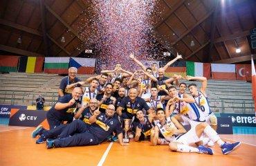 Збірна Італії U-18 виграла юніорський чемпіонат Європи чолоовічий волейбол, реклама, чемпіонат італії, ю18, збірна італії