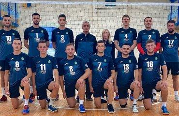 """Друга ліга (чоловіки). 1-й тур. Вдалий старт ВК """"Горіш"""" чоловічий волейбол, дурга ліга україни 2020-2021, перший тур, вк горіш"""