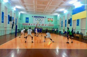 """Перша ліга (чоловіки). 1-й тур. ВК """"Нікополь"""" та інші чоловічий волейбол, волейбол в україні, перша ліга , огляд матчів, перший тур"""