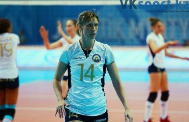 Казахстанську волейболістку дискваліфікували за критику федерації на телекамеру жіночий волейбол, олеся сафронова, казахстанська волейболістка, жетису, чемпіонат казахстану, дискваліфікація, скандал, відео