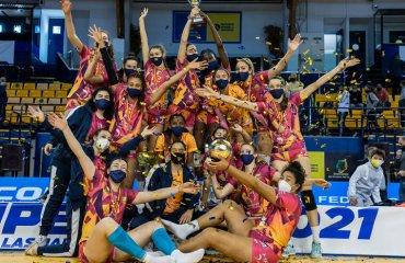 Українська нападниця Угленко завоювала Кубок Іспанії жіночий волейбол, ольга угленко, чемпіонат іспанії, кубок іспанії, кубок принцеси-2021, сезон 2020-2021, українська волейболістка, трофей, лас пальмас, copa princesa-2021