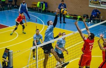 Суперліга (чоловіки). 1/4 фіналу. Перший раунд – за житомирянами та харків'янами чоловічий волейбол, суперліга україни 2020-2021, плей-офф, житичі-пну, юракадемія