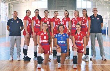 """Перша ліга (жінки). """"Фінал чотирьох"""". 1-й тур. СК """"Балта-БПК"""" робить заявку на чемпіонство жіночий волейбол, перша ліга україни 2020-2021, фінал чотирьох, перший тур, огляд матчів, ск балта"""
