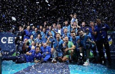 """Московське """"Динамо"""" завоювало Кубок ЄКВ чоловічий волейбол, кубок єкв-2021, динамо москва росія, зеніт-спб, єврокубки, фінал"""