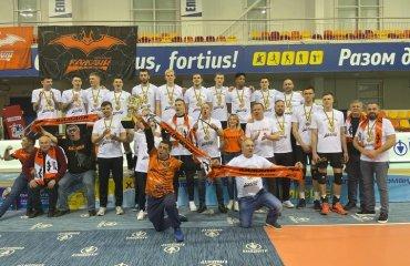 """ВК """"Барком-Кажани"""" став триразовим чемпіоном України чоловічий волейбол, суперліга україни 2020-2021, фінал, епіцентр-подоляни, барком-кажани, результати, чемпіон країни"""