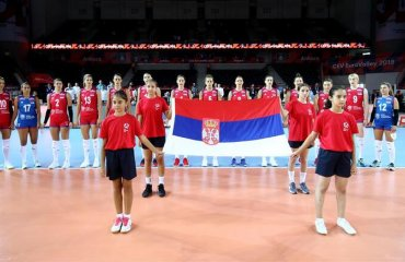 """Сербська волейболістка в матчі з Таїландом показала """"вузькі очі"""". Федерація вибачилася за расизм (ВІДЕО) жіночий волейбол, збірна серібї, збірна таїланду, расизм, ліга націй, скандал відео"""