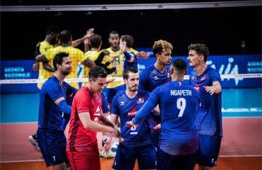 Ліга націй. Сербія обіграла Францію, Іран сильніше Італії та інші матчі чоловічий волейбол, ліга націй-2021, коловий турнір, 5 тур, результати матчів