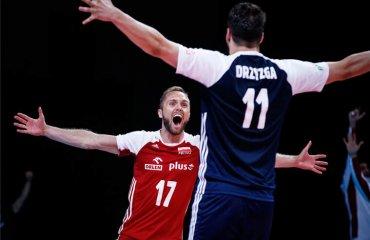 Ліга націй. Словенія на тай-брейку здолала Францію, Іран програв Сербії та інші матчі чоловічий волейбол, ліга націй-2021, груповий етап, 8-ий тур, результати матчів