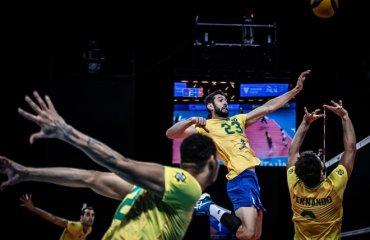 Ліга націй. Іран програв Австралії, бразильці здолали словенців та інші матчі чоловічий волейбол, ліга націй-2021, груповий етап, 10-ий тур, результати матчів