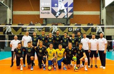 Збірна України вийшла у фінал Золотої Євроліги-2021 чоловічий волейбол, золота євроліга-2021, фінал чотирьох, збірна україни, бельгія, естонія, туреччина, склади команд, розклад, відео-трансляція, онлайн-трансляція, фінал