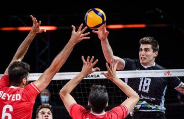 Ліга націй. Словенія обіграла Японію, Іран програв Польщі та інші матчі чоловічий волейбол, ліга націй-2021, груповий етап, 14-ий тур, результати матчів