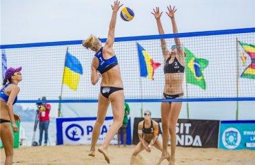 Українки боротимуться за бронзові нагороди Світового туру пляжний волейбол, світовий тур 2*, луніна\давідова, сетри ірина та інна махно, українські пляжниці, чвертьфінал, півфінал, матч за третє