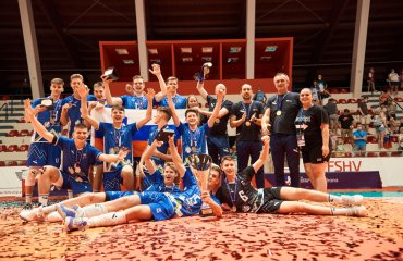 Словенія перемогла Росію у фіналі Євро U-17 чоловічий волейбол, молодіжний чемпіонат європи ю17, словенія, росія, фінал