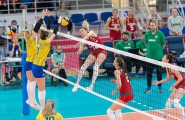 Жіноча збірна України провела спаринги з Болгарією жіночий волейбол, чемпіонат європи-2021, жіноча збірна україни, тренувальні збори болгарія