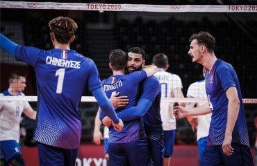 Олімпіада. Франція перемогла Росію, Бразилія обіграла США та інші результати дня чоловічий волейбол, оліміпійські ігри 2020, токіо японія, світовий волейбол, олімпіада, чоловіки, результати 4-го туру