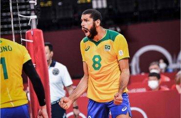 Уоллес завершив кар'єру в збірній Бразилії чоловічий волейбол, збірна бразилії, уоллес, завершення кар'єри у збірній, олімпіада-2020 токіо