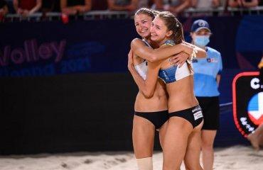 Пляжниці Ірина та Інна Махно вийшли у плей-офф чемпіонату Європи пляжний волейбол, чемпіонат європи-2021, результати матчів, плей-офф, ірина та інна махно, давідова \ луніна, ємельянчик \ попов сергій