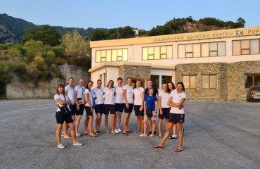 Збірна України провела три спаринги з Грецією жіночий волейбол, збірна україни з волейболу, жіноча збірна україни, чемпіонат європи-2021, спаринги з грецією