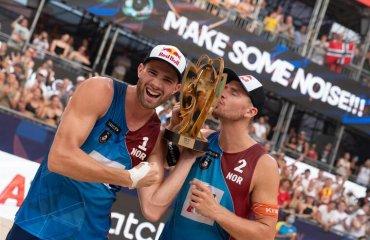 Пляжники з Норвегії та Швейцарії стали чемпіонами Європи пляжний волейбол, чемпіонат європи-2021, результати матчів, переможці турніру