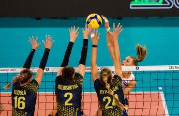 Збірна України програла стартовий матч Євро-2021 жіночий волейбол, чемпіонат європи-2021, жіноча збірна україни, євроволей-2021, результати матчу, нідерланди