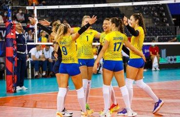 Збірна Україна здобула третю поспіль перемогу на Євро-2021 жіночий волейбол, чемпіонат європи-2021, жіноча збірна україни, володимир орлов, груповий етап, перемога над румунією, плей-оф
