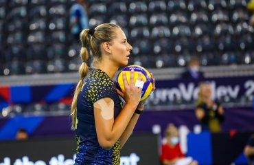 """Олеся РИХЛЮК: """"Моя участь у турнірі до останнього була під великим питанням"""" жіночий волейбол, чемпіонат європи-2021, жіноча збірна україни, олеся рихлюк, інтерв'ю, плей-офф"""