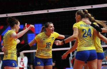 Збірна України програла Польщі в 1\8 фіналу Євро-2021 жіночий волейбол, чемпіонат європи-2021, жіноча збірна україни, 1\8 фіналу, плей-оф, плей-офф, польща-україни